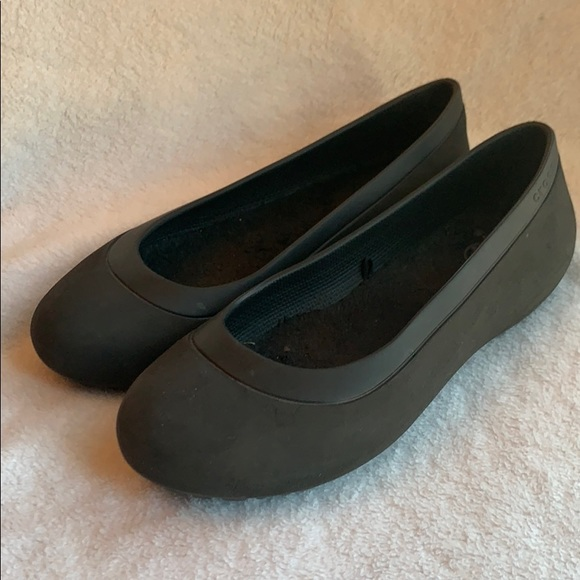 CROCS Shoes | Ballet Flats Fleece Lined